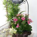 labihourderie de fleurs de bienvenue