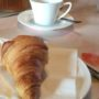 La Bihourderie breakfast croissants