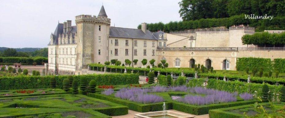 La Bihourderie gardens of villandry castle