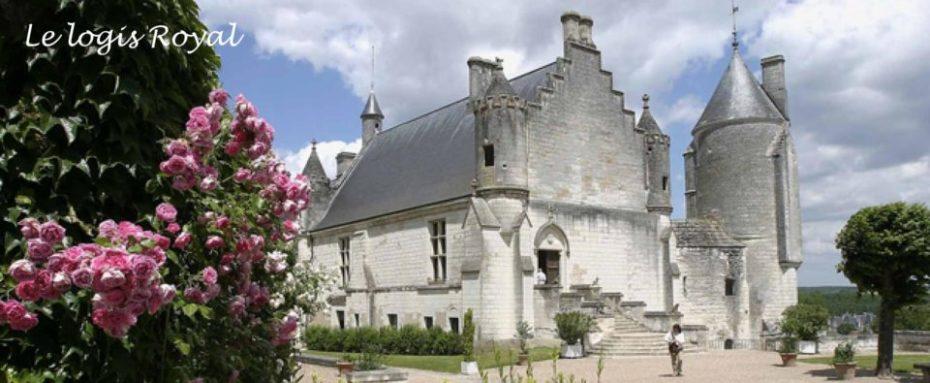 La Bihourderie royal lodgings castle in Loches