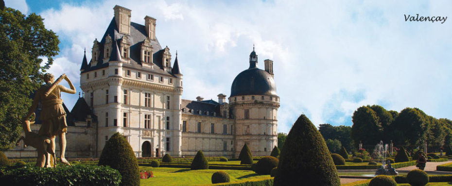 La Bihourderie chateau de Valencay castle grounds