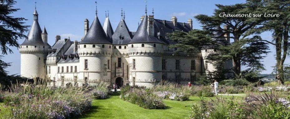 La Bihourderie château de Chaumont sur Loire castle gardens