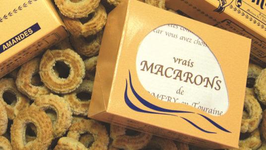 La Bihourderie vrais macarons de Cormery