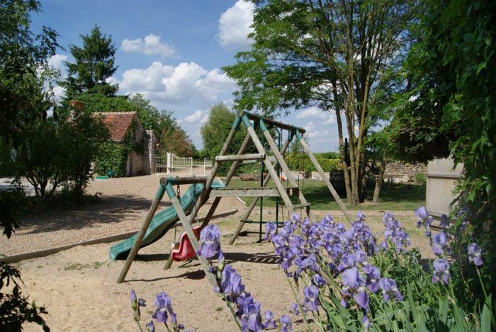 La Bihourderie children's play area